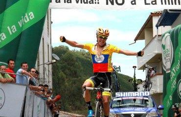 Richard Caparáz suma su segunda etapa consecutiva en la VUelta de la Juventud