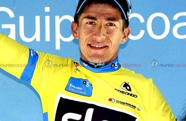 El espectacular regreso de Sergio Henao es la mejor noticia del ciclismo colombiano en lo corrido de la temporada 2015 (Foto©TeamSky)