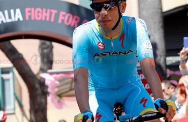 Fabio Aru, uno de los candidatos al título del Giro de Italia