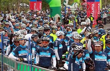 La Ruta Colombia reunió un número record de participantes en Antioquia