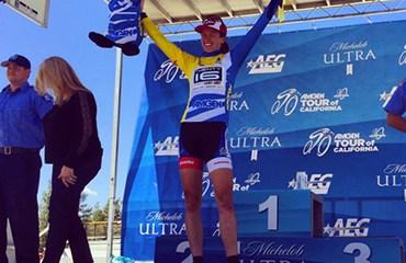 La local Lauren Komanski se puso líder a falta de una sola etapa para el final