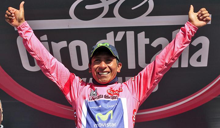 Nairo Quintana, único ganador por Colombia del Giro de Italia