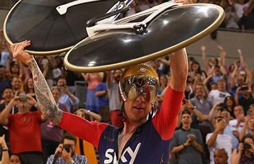 Wiggins protagonizó una fantástica noche el pasado domingo en el Velódromo Olímpico de Londres