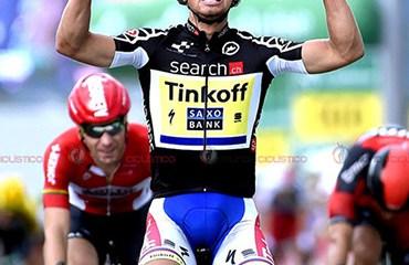 Peter Sagan ganó la sextas etapa de Tour de Suiza
