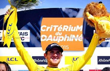 Van Garderen recuperó la camiseta amarilla de la Dauphiné Liberé a un día del final