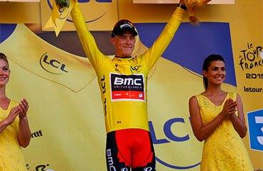 Dennis ganó el Prólogo en Utrech y es es el primer líder de la edición 2015 del Tour de Francia