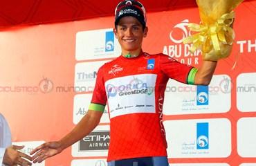"""""""Chavito"""" sigue con su fenomenal temporada y quedó a un paso del título en el Tour de Abu Dhabi"""