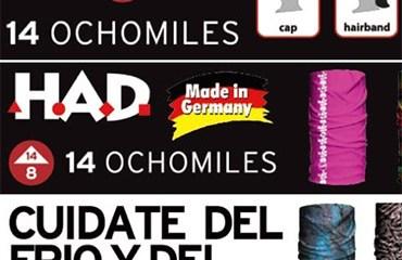 14 Ochomiles tiene las últimas colecciones de HAD