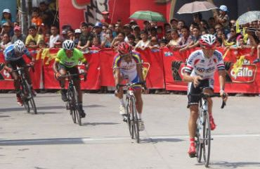 Román Villalobos de Costa Rica el ganador de la tercera etapa de Vuelta a Guatemala 720