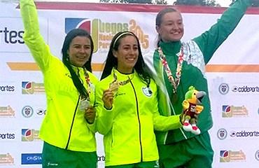 Mariana Pajón, la reina del BMX de los Juegos Nacionales