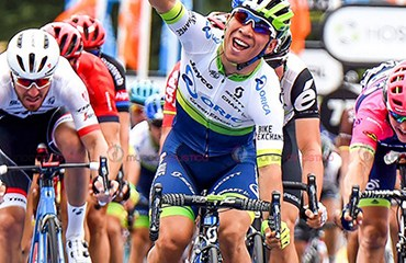 Caleb Ewan se impuso en la apertura del UCI WT 2016