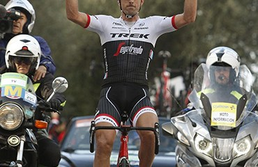 Fabian Cancellara consiguió la primera victoria en su última temporada como profesional