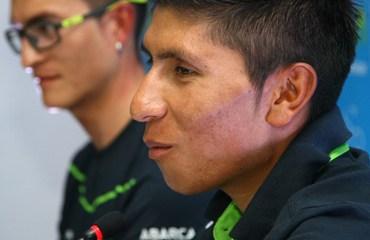 Quintana y Anacona dieron las últimas declaraciones antes de encarar este domingo el Gran Fondo élite de la cita nacional de Ruta