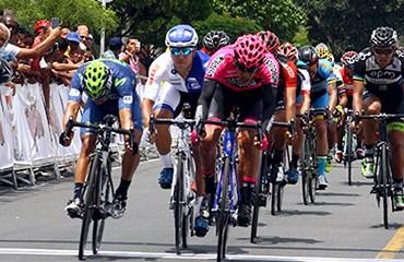 Juan Sebastián Molano, lider de Vuelta al Valle 2016