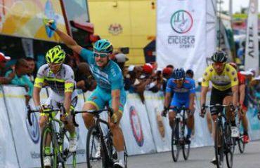 Andrea Guardini venció en la séptima etapa del Tour de Langkawi