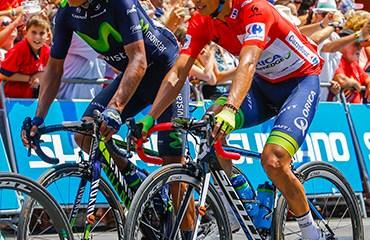Esteban Chaves y Nairo Quintana atracciones de la Vuelta a Catalunya 2016