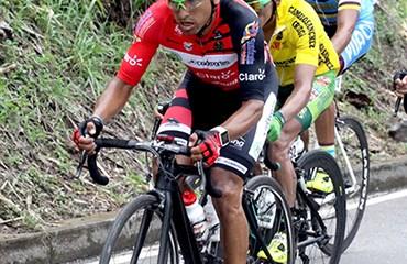 Miguel Ángel Rubiano, segundo en etapa de hoy en Clásica de Anapoima