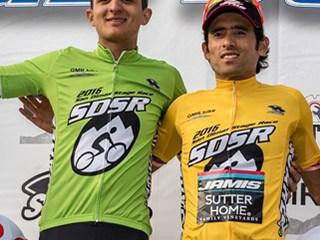 Los colombianos Janier Acevedo y Bryan Gómez se subieron al podio el pasado fin de semana en San Dimas