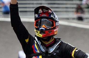 Álvarez se impuso en la categoría 13-14 Años en la jornada de cierre de la categoría Challenge del Mundial paisa