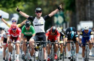 Mark Cavendish vencedor de última etapa de Tour de California