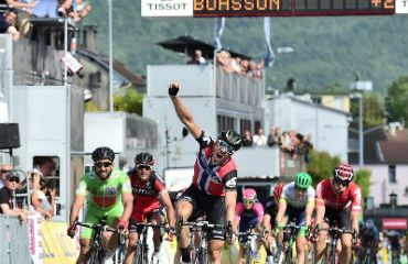 Edvald Boasson Hagen ganador de tercera etapa de Critérium Dauphiné