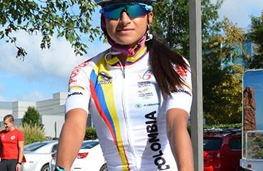 Laura Camila Lozano, única colombiana en Giro Rosa 2016