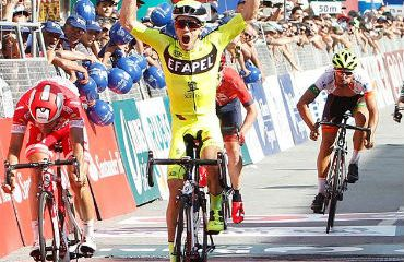 Daniel Mestre, ganador de primera etapa y líder de Volta a Portugal
