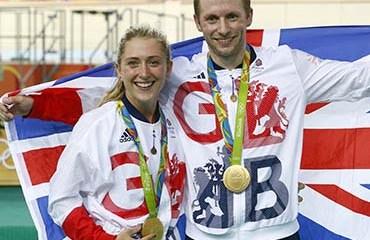 Jason Kenny y Laura Trott sumaron cinco medallas de oro en los Juegos Olímpicos de Río de Janeiro