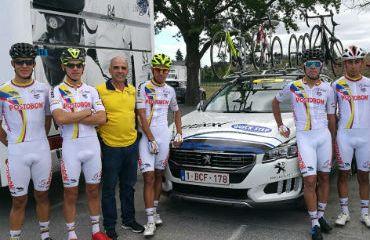 Egan Bernal, el mejor de la Selección Colombia en el Tour de L'Avenir