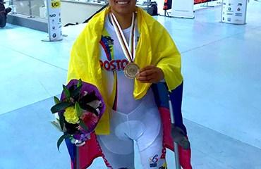 Carolina Munévar en sus primeros juegos Paralímpicos