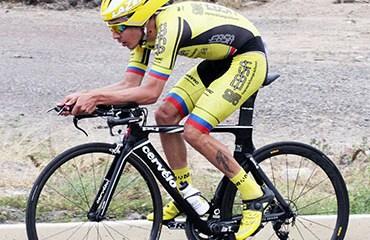 Cristian Serrano ganó la CRI de la Vuelta a Boyacá 2016