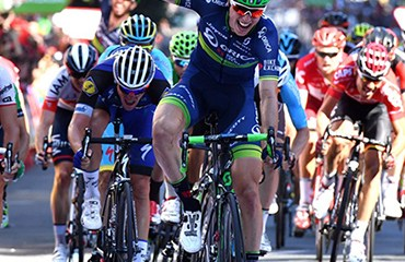 Jens Keukeliere ganador de la etapa de este jueves