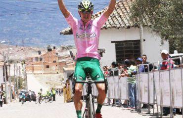 Miguel Eduardo Flórez ganador de tercera etapa y nuevo líder de Vuelta a Boyacá