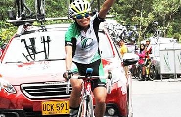 Liliana Moreno se llevó la etapa en el Alto del Túnel