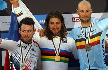 Peter Sagan se quedó con la medalla de oro en Catar