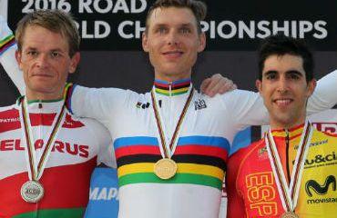 Tony Martin, nuevo campeón del mundo de la CRI