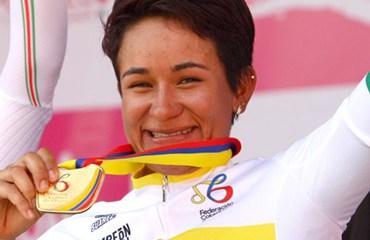 Ana Cristina Sanabria es la gran favorita al título de la Vuelta a Colombia Femenina