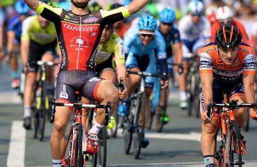 Jakub Mareczko, alcanzó su tercera victoria en el Tour de Taihu de la China