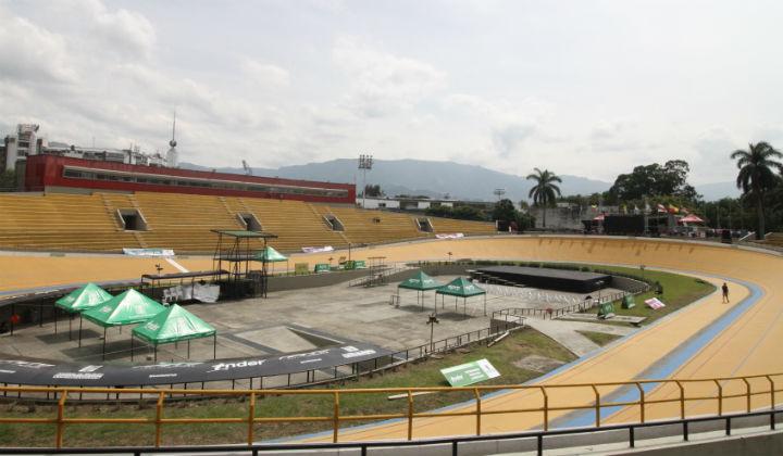 Todo listo para EPM Medellín de Pista en Velódromo Cochise Rodríguez 720