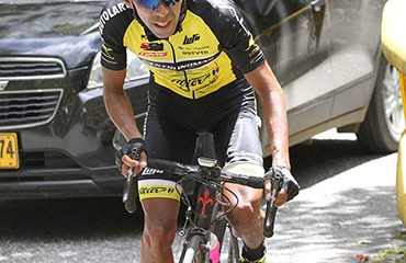 Becerra se alzó con la victoria en la décima etapa de la ronda tica