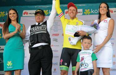 El pedalista local César Rojas se proclamó virtual campeón de la Vuelta a Costa Rica