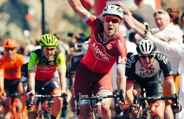 Alexander Kristoff vencedor en Tour de Omán
