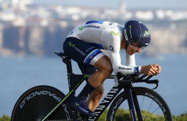 Jonathan Castroviejo ganador de la CRI de Vuelta al Algarve