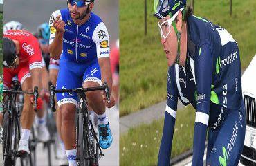 Fernando Gaviria, Carlos Betancur y Daniel Martínez, colombianos en la Milano-San Remo