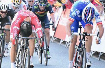Davide Cimolai ganador de etapa y primer líder de Vuelta a Cataluña