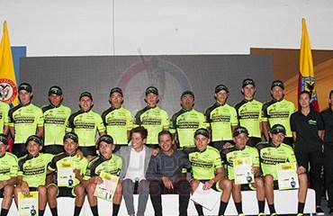El Fundación Esteban Chaves-Bikehouse presentó su equipo para la temporada 2017