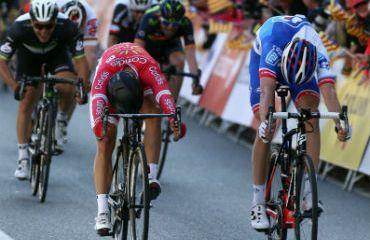 Nacer Bohanni, el vencedor de la cuarta etapa de Vuelta a Cataluña