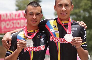 Aránzazu y Zapata le sumaron dos nuevas medallas al total de Colombia en el Panamericano de Paipa