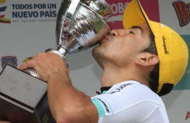 Diego Cano, el actual campeón de la Vuelta de la Juventud