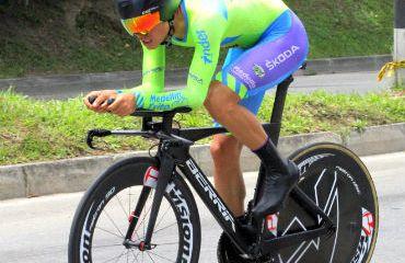 Eduardo Estrada ganador de Prólogo de Vuelta de la Juventud